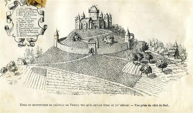 Château de Vesoul